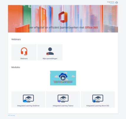 Webinar (samen)werken met Microsoft Office 365