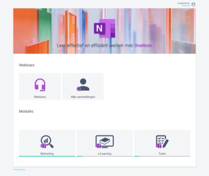 Webinar Microsoft OneNote