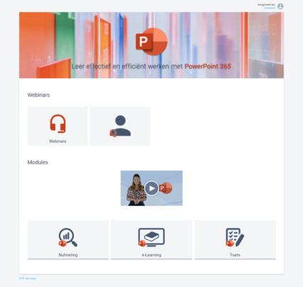 Webinar Microsoft PowerPoint 365