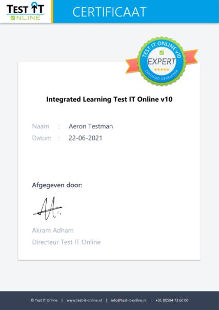 Integrated Learning Test IT Online v10-04